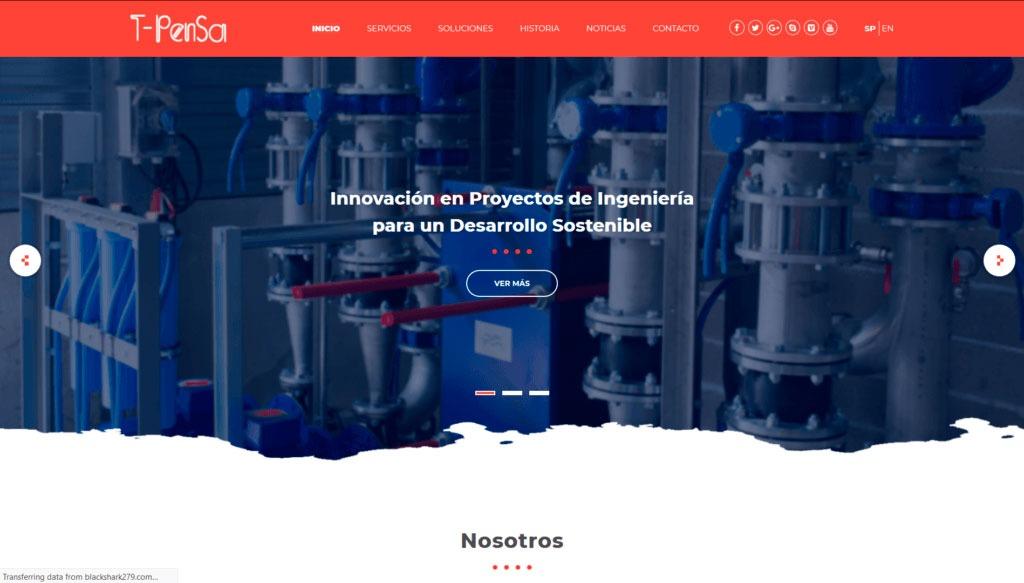 TPensa Website